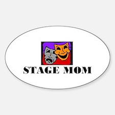 Stage MOM Oval Sticker (10 pk)