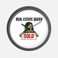 SALES QUEEN Wall Clock