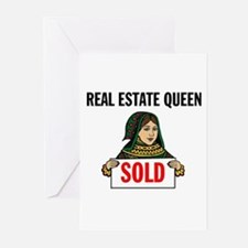 SALES QUEEN Greeting Cards (Pk of 10)