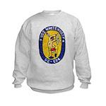 USS WHITEHURST Kids Sweatshirt