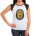 USS WHITEHURST Women's Cap Sleeve T-Shirt