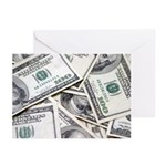 I am Financially Free! Greeting Cards