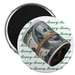 """I am Financially Free! 2.25"""" Magnet (10 pack)"""
