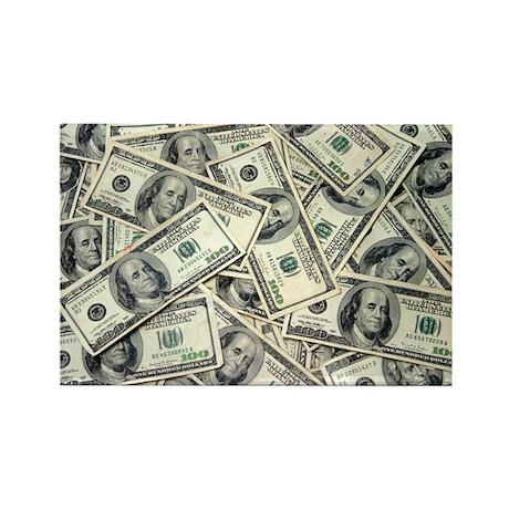 I am a Money Magnet! Rectangle Magnet (10 pack)