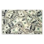 I am a Money Magnet! Rectangle Sticker