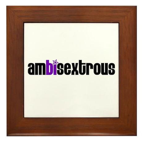 Ambisextrous Framed Tile
