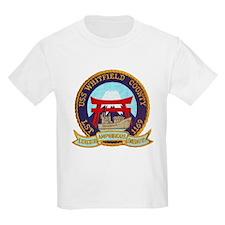 USS WHITFIELD COUNTY Kids T-Shirt