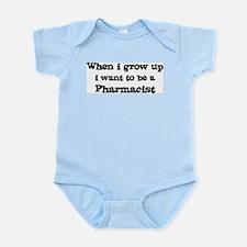 Be A Pharmacist Infant Creeper