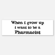 Be A Pharmacist Bumper Bumper Bumper Sticker