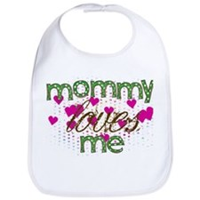 Mommy Loves Me Bib