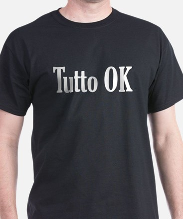 Tutto OK Black T-Shirt