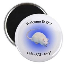 Welcome To Our Lab! Magnet