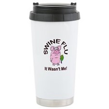 Swine Flu Travel Mug