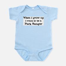 Be A Park Ranger Infant Creeper