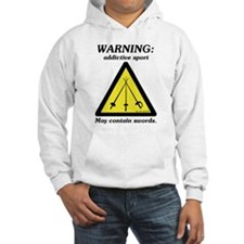 Warning: Addictive Sport Jumper Hoody