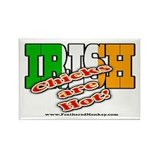 Irish Chicks; Rectangle Magnet (10 pack)