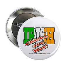 "Irish Chicks; 2.25"" Button"