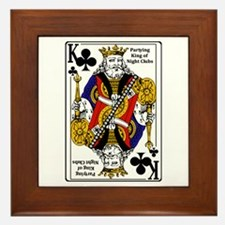 King of NIght Clubs Framed Tile