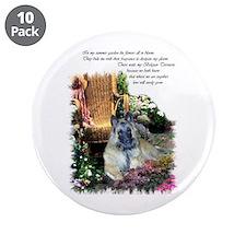 """Belgian Tervuren Art 3.5"""" Button (10 pack)"""