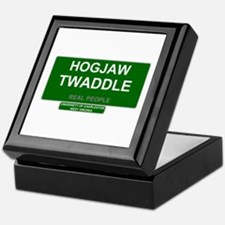 REAL PEOPLE - HOGJAW TWADDLE Keepsake Box