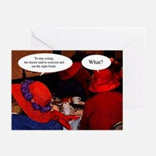 Red Hatters Birthday Greeting Cards (Pk of 10)