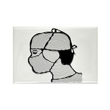 Surgeon.001 Rectangle Magnet