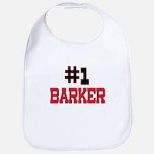 Number 1 BARKER Bib