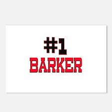 Number 1 BARKER Postcards (Package of 8)