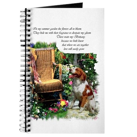 Brittany Spaniel Art Journal