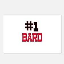 Number 1 BARD Postcards (Package of 8)