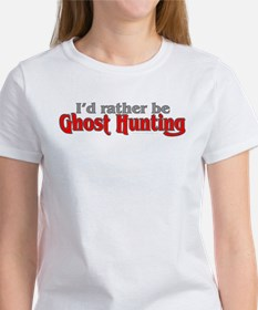 Rather Be Ghost Hunting Tee