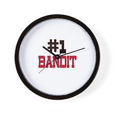 Number 1 BANDIT Wall Clock