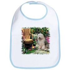 Old English Sheepdog Bib