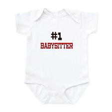 Number 1 BABYSITTER Infant Bodysuit
