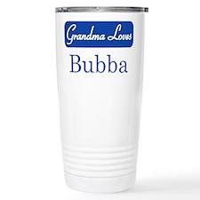 Grandma Loves Bubba Travel Mug