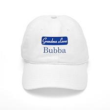 Grandma Loves Bubba Baseball Cap