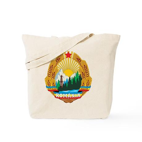 Romania Coat Of Arms 1965 Tote Bag