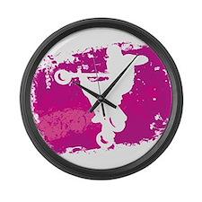 AIRBORN NO. 46 Large Wall Clock