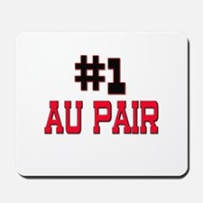 Number 1 AU PAIR Mousepad