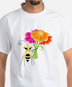 Funny Bee happy Shirt
