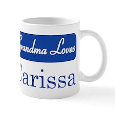 Grandma Loves Carissa Mug