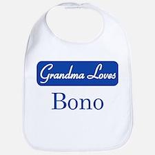 Grandma Loves Bono Bib
