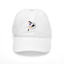 50's Bomber Girl Baseball Cap