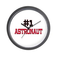 Number 1 ASTRONAUT Wall Clock