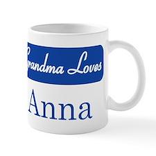 Grandma Loves Anna Mug