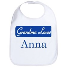 Grandma Loves Anna Bib