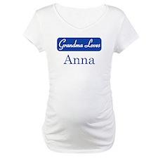 Grandma Loves Anna Shirt