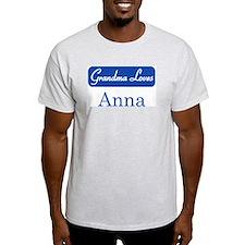 Grandma Loves Anna T-Shirt