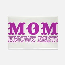 Mom Knows Best Rectangle Magnet (100 pack)