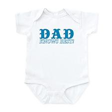 Dad Knows Best Infant Bodysuit